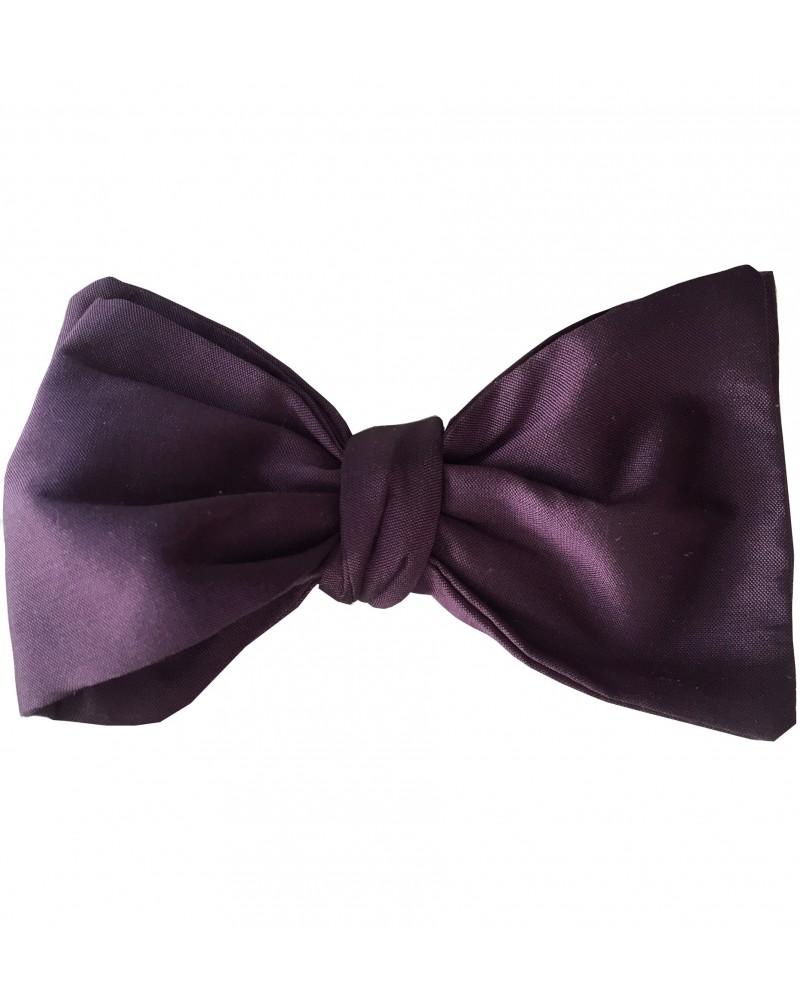 noeud papillon soie violet tom clippertown. Black Bedroom Furniture Sets. Home Design Ideas