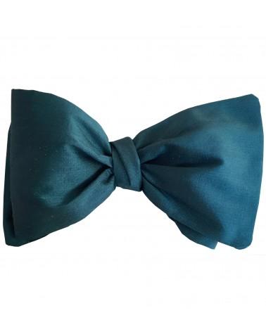 Noeud Papillon en soie bleu cobalt TOM CLIPPERTOWN®