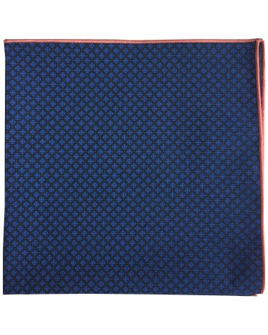 Pochette costume imprimé fleur orange TOM CLIPPERTOWN®