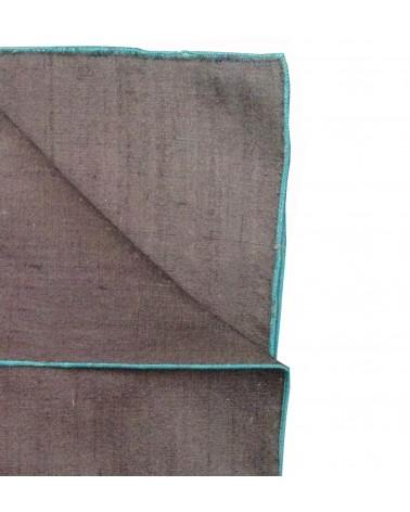 Pochette costume soie gris TOM CLIPPERTOWN®