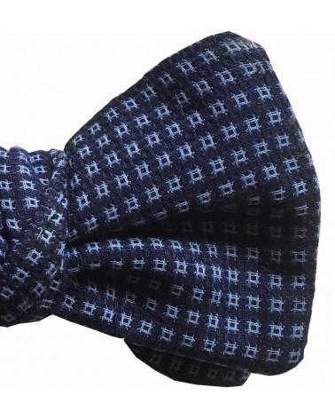 Noeud Papillon coton imprimé bleu TOM CLIPPERTOWN®