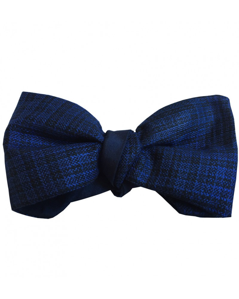Noeud Papillon carreaux bleu nuit TOM CLIPPERTOWN®
