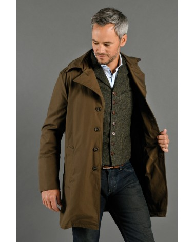 TRENCH-COAT ECORCE TOM CLIPPERTOWN®