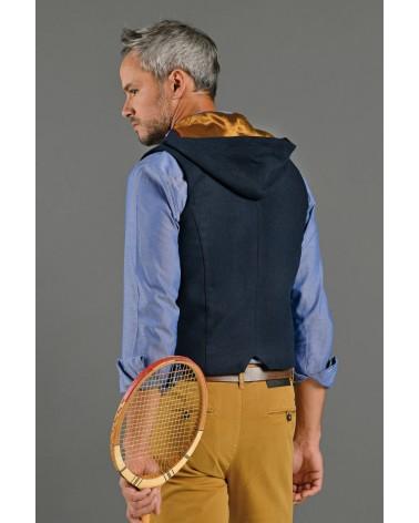 Gilet costume flanelle marine TOM CLIPPERTOWN®