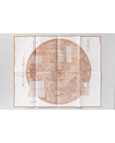 CARTE MAPPA MUNDI D'EBSTORF RELIEFS EDITIONS